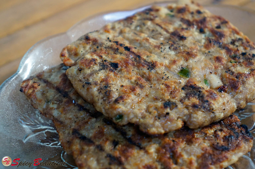 Grilled Chicken Patty with Jalapeno bits