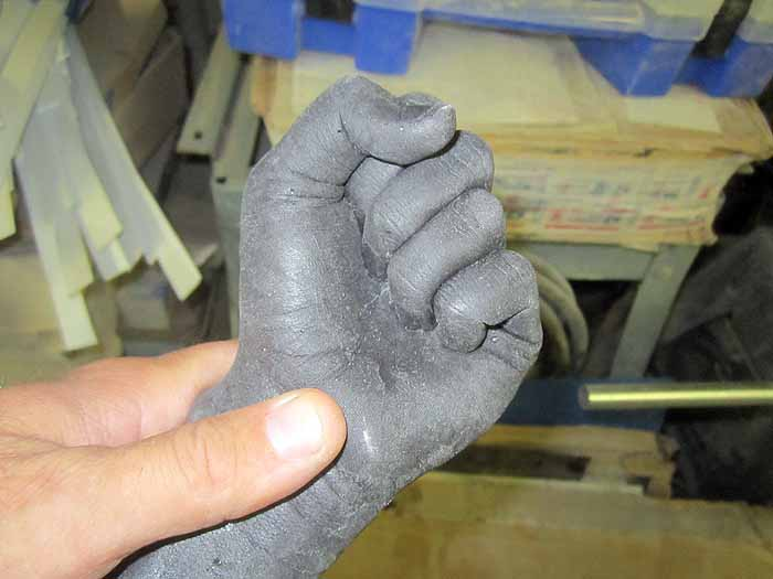 Arm Lifecasting 9