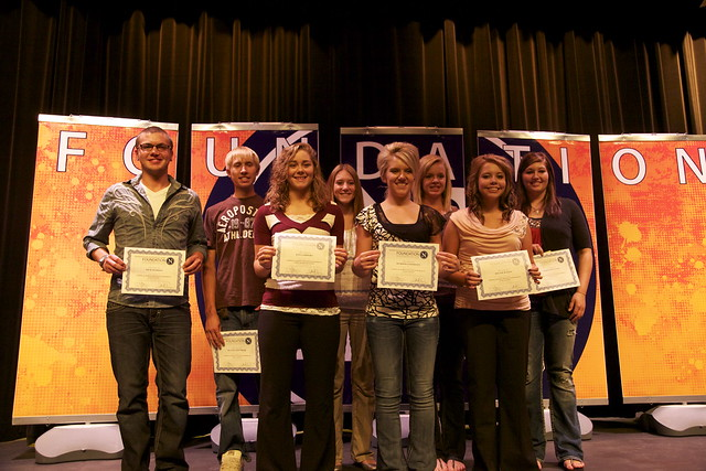 2012 TRF Fall Scholarship Ceremony