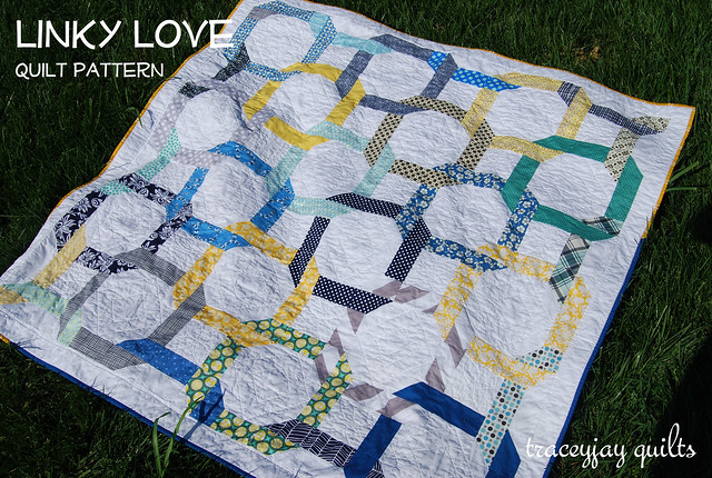 Linky Love quilt