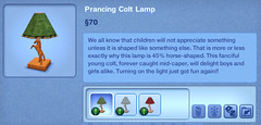 Prancing Colt Lamp