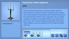 Fancytime Table Lighter