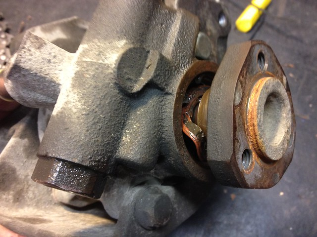 Busted bearing