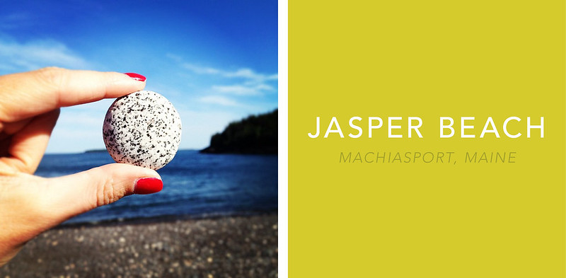 Jasper Beach Howard Cove Machiasport Maine 3