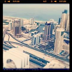 Dubai marina from JLT