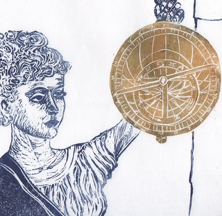 Hypatia detail of astrolabe