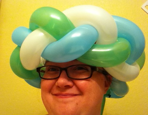 Balloon Braid Turban