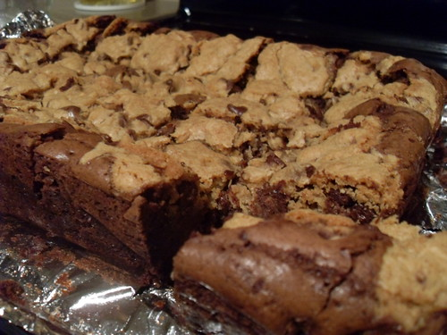 Chocolate Chip Cookie Brownies