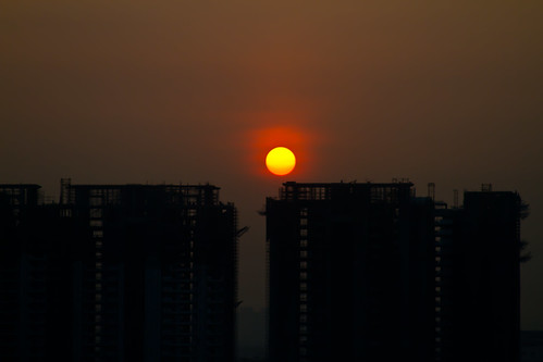 sunrise day clear gurgaon takenwithlove