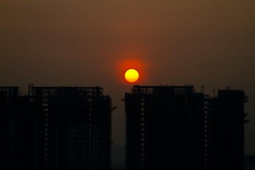 sunrise day clear gurgaon takenwithlove