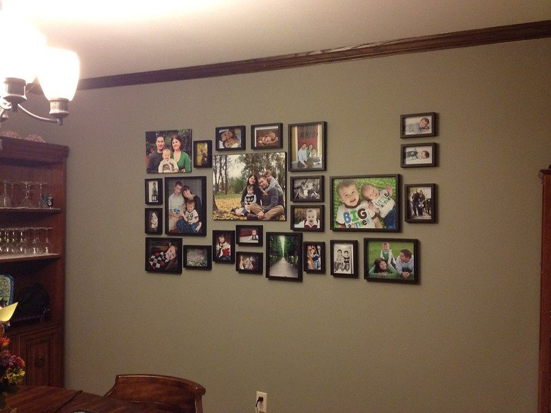 239 photo wall