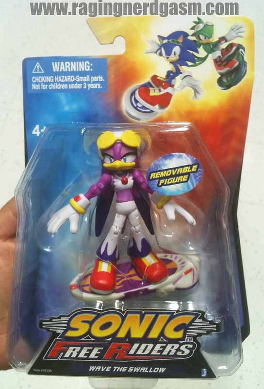 Sonic Free Riders Figures by Jazwares Wave The Swallow 011