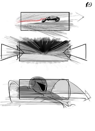 120912(2) - 好萊塢真人電影版《光明戰士 AKIRA》片頭場面的『分鏡表』正式公開......對啦、還有修改的空間啦! (2/7)