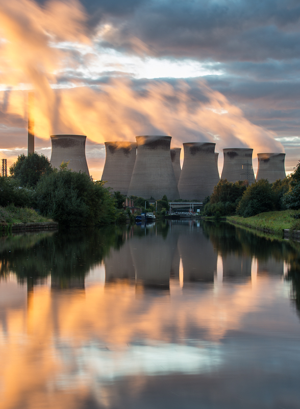 Ferrybridge as I've never seen it before...