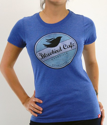 The Blue Bird Cafe In Nashville - T-Shirts