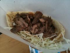 pulled pork, carnitas, food, dish, cuisine,