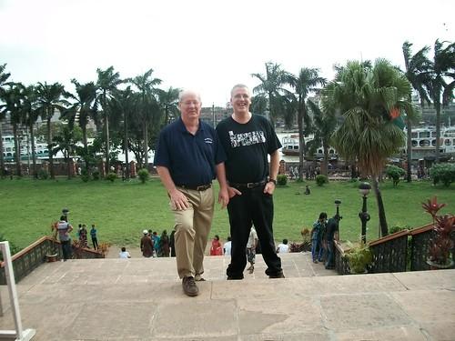 Jim and Justin in Dhaka