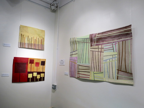 Lisa Call Dream 37 & 38 & Structures 97 at The ArtQuilt Gallery