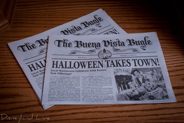 Buena Vista Street Bugle, Halloween Edition - Disney California Adventure