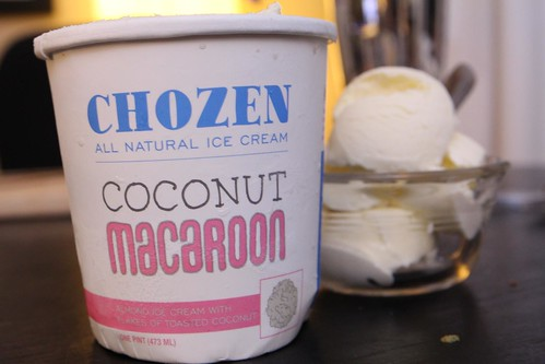 Chozen Coconut Macaroon Ice Cream