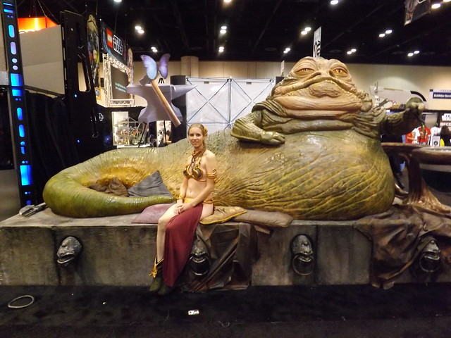 Slave Leia and Jabba the Hutt | Flickr - Photo Sharing! Jabba The Hutt And Oola