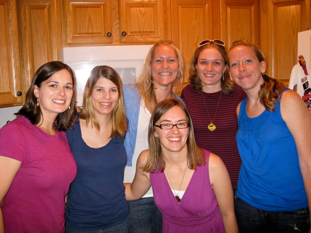 Elysia, Maran, Kasie, Kate, Shanna & Sara