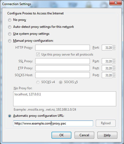 proxy setup, automatic Proxy configaration , Proxy configaration, firefox