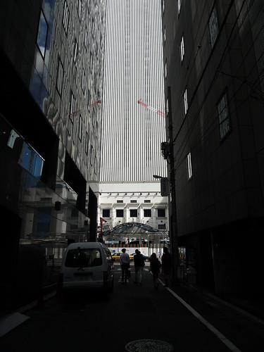 歌舞伎座工事中 '12/09/18