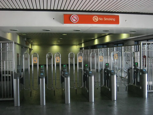 Atlanta subway entrance
