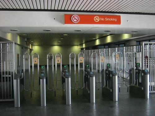 Atlanta subway entrance