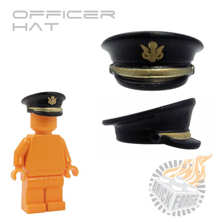Officer Hat - Black (US Army)