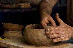 hand, art, clay, pottery, limb,