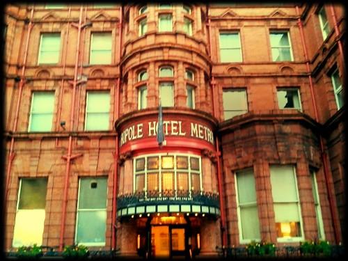 Exterior of Metropole Hotel Leeds
