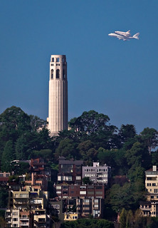 Endeavour Over Coit Tower