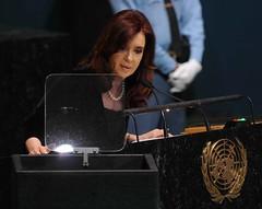 Cristina en Asamblea General de la ONU