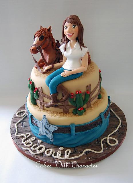 Happy Birthday Strange Cake Lady