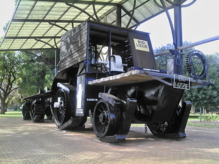 1915 Big Lizzie World's First Road Train Truck