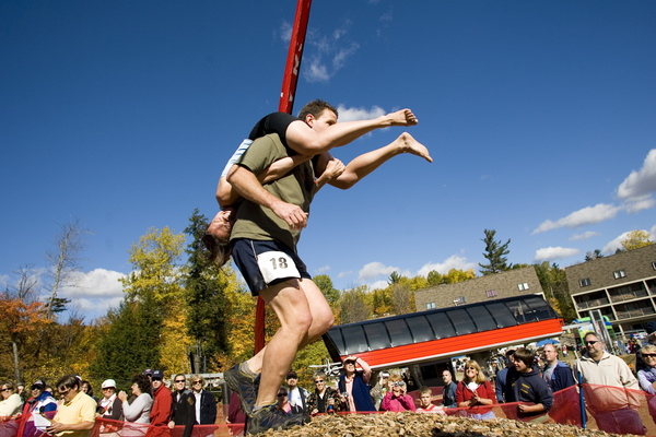 Sunday River wife carrying event