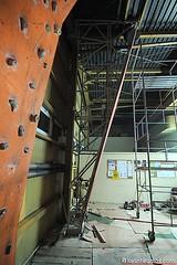 Rozbudowa ściany wspinaczkowej etap 3