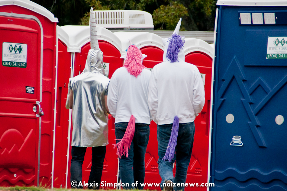 Even Unicorns Have to Use the Porta-Potties! (Voodoo Experience in New Orleans 2011)