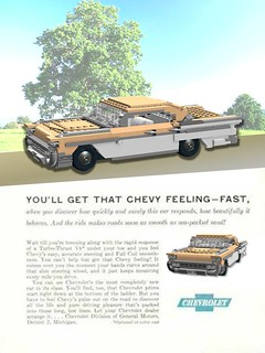 1958 Chevrolet Impala Advert