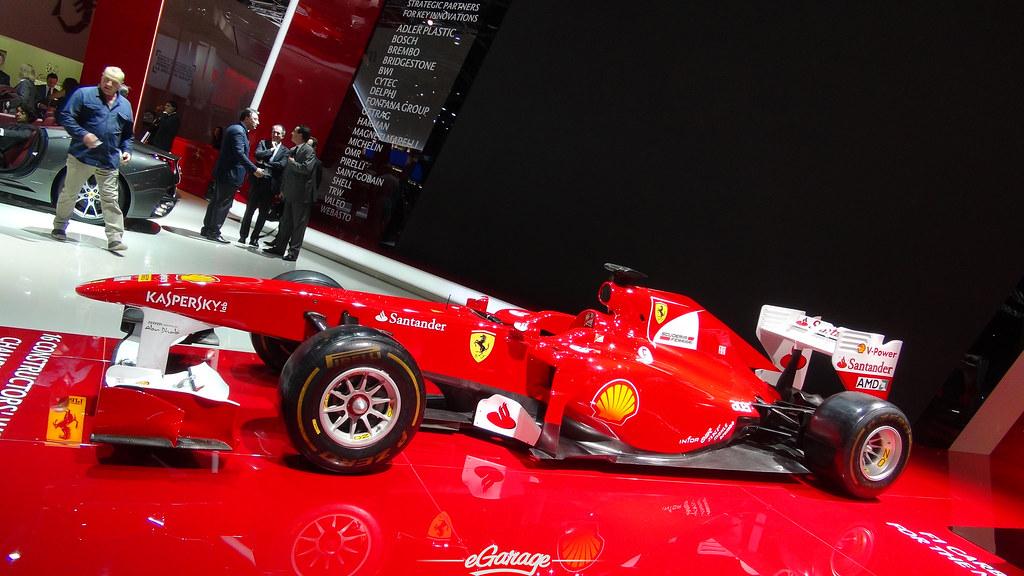 8034746749 20c533e173 b eGarage Paris Motor Show Ferrari Formula 1