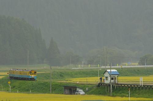 由利高原鉄道 YR1500形3両サヨナラ運転 #05