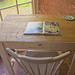 The desk at Lissan House