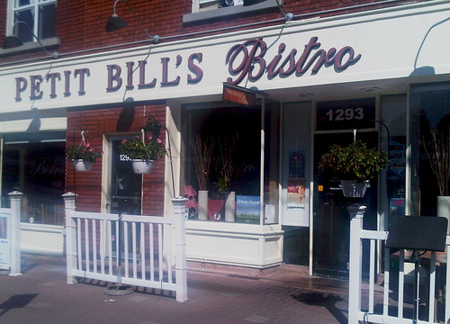 Petit Bill's Bistro, Ottawa