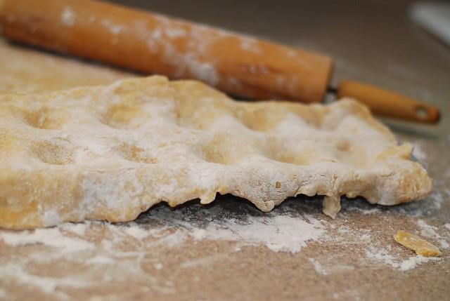 ravioli dough rolling
