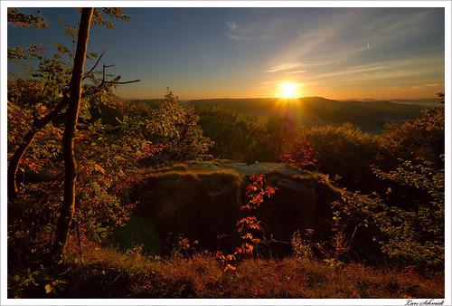 sunset nature landscape sonnenuntergang natur landschaft wald 10mm stativ eichsfeld tamron1024mmf3545spdiiildaslif