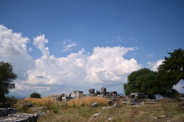 Stratos Temple Of Zeus From Se Flickr Photo Sharing