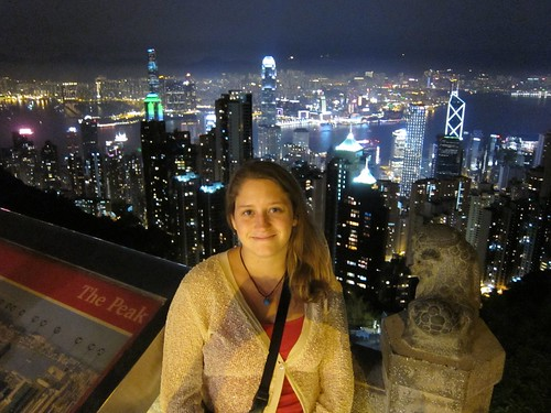 Stephanie Yoder in Hong Kong