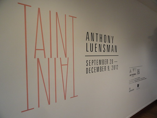 Anthony Luensman: Taint